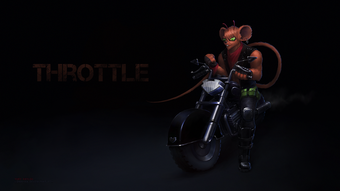 Throttle - Biker Mice from Mars by LimonTea on DeviantArt