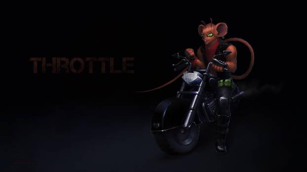Throttle - Biker Mice from Mars