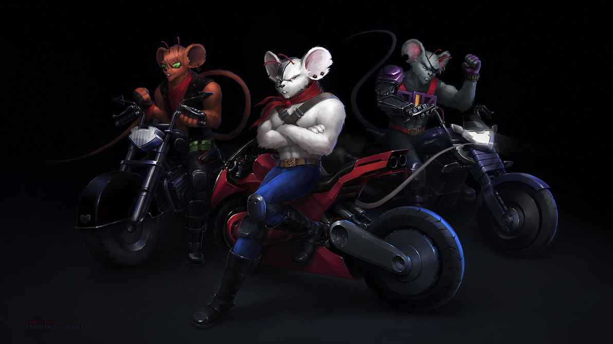 biker mice from mars as female - photo #7