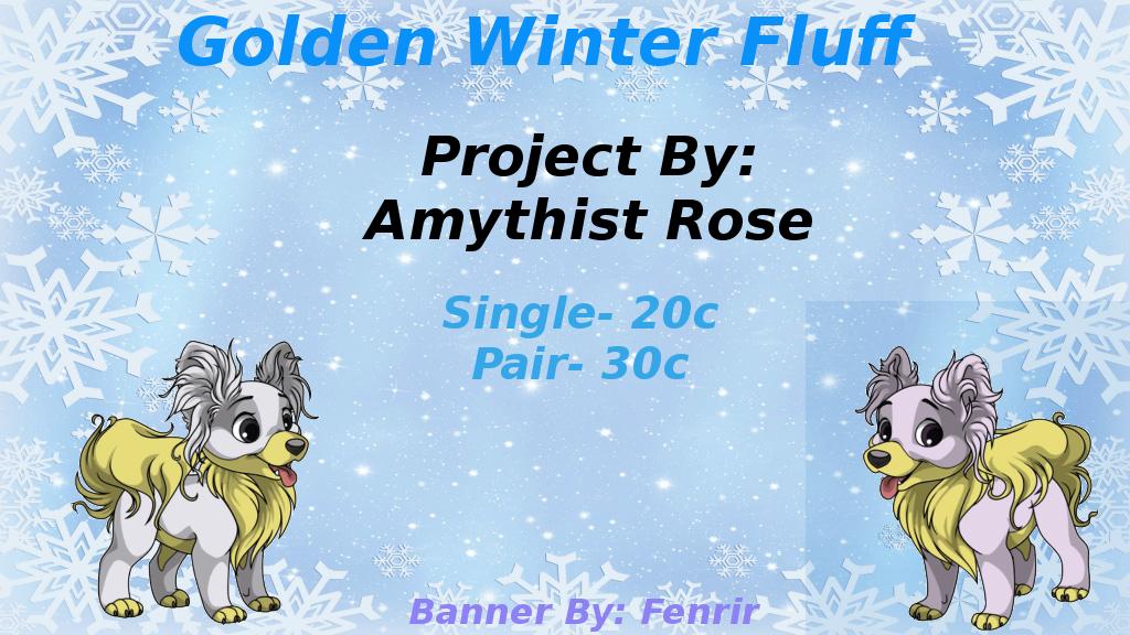 GoldenWinterFluff by dragona-star08
