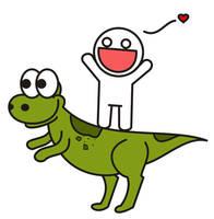 Dinosaur by Desfachatada