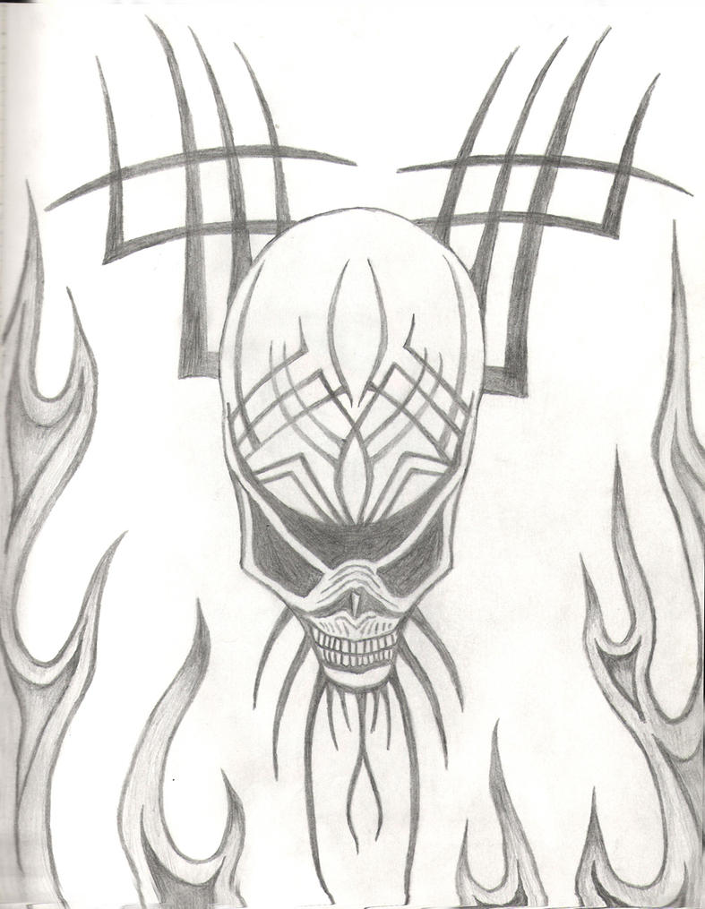 Tribal Alien by hzonpole on deviantART