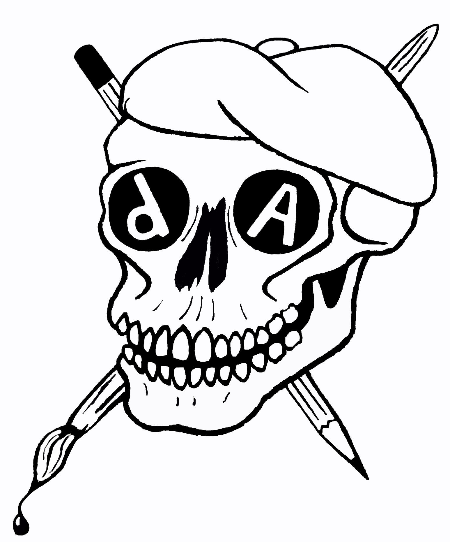 dA Skull Tatoo I by hzon-pole on DeviantArt