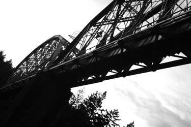 Train Bridge I by Southwest