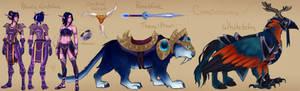 Rhenelle Nightblade Character Sheet