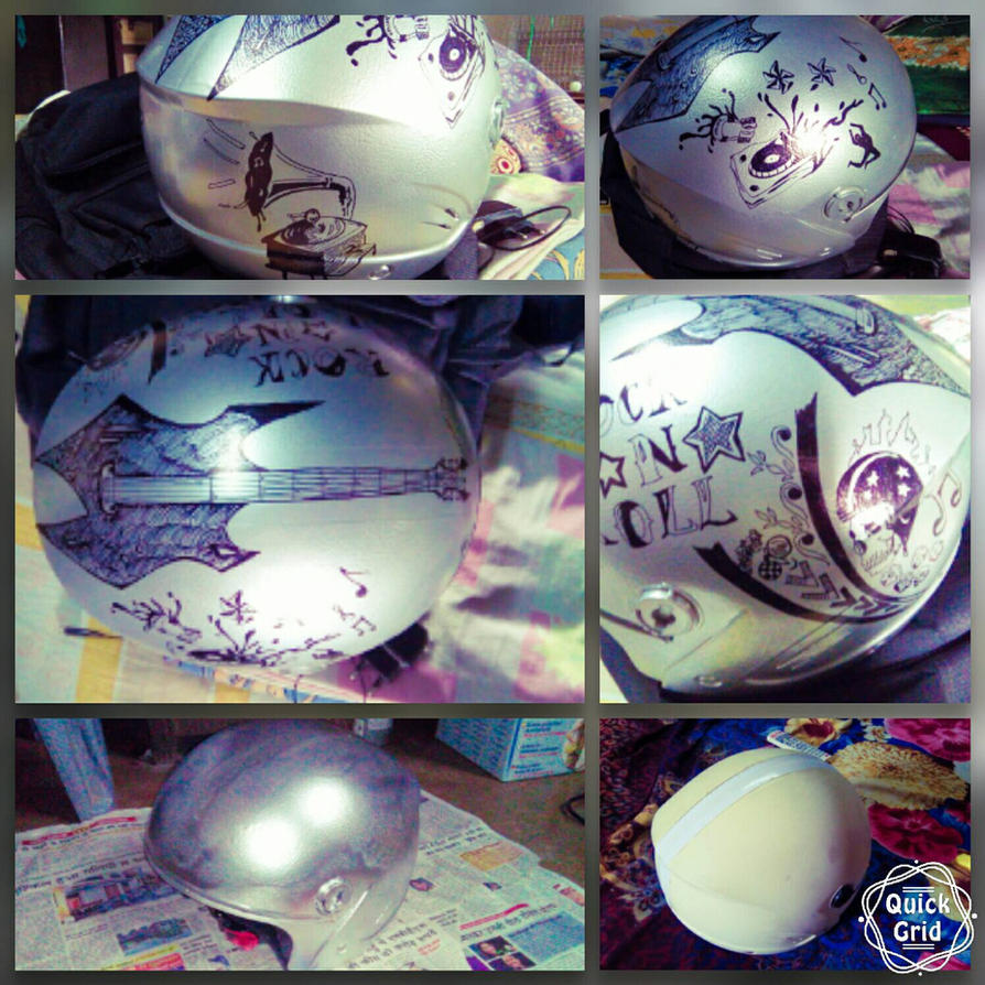 helmet art by Apurupdutta