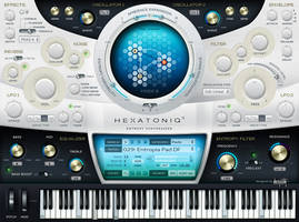 VST GUI for Hexatoniq