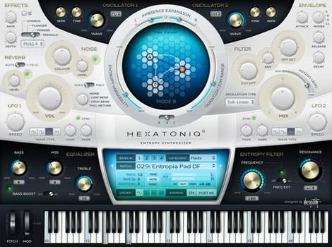 VST GUI for Hexatoniq