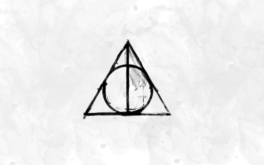 Deathly Hallows Symbol by MCR85 on DeviantArt