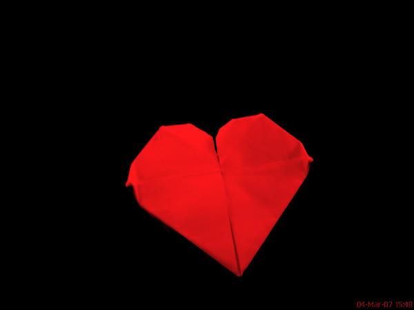 My paper heart by GiuliaBlackAngel
