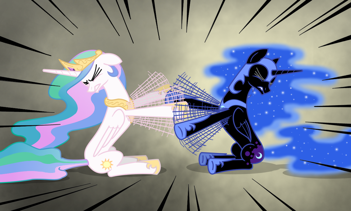Epic battle by Underpable