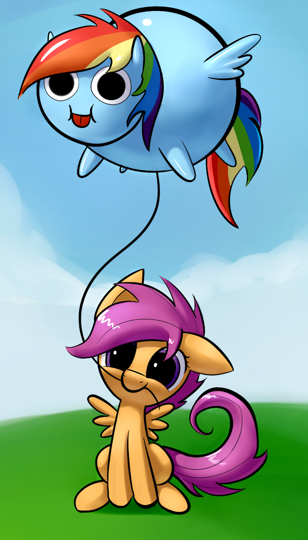 The Balloon by Underpable