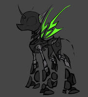 Megamare X - Faceless by Underpable