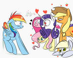 RD gets all the mares