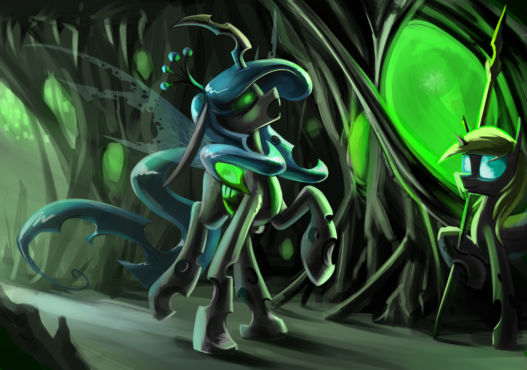 Mlp Changeling Tf: Another Chrysalis By Underpable On DeviantArt