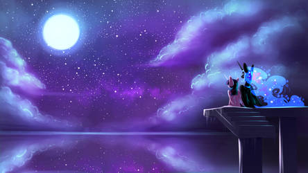 Night Sky by Underpable