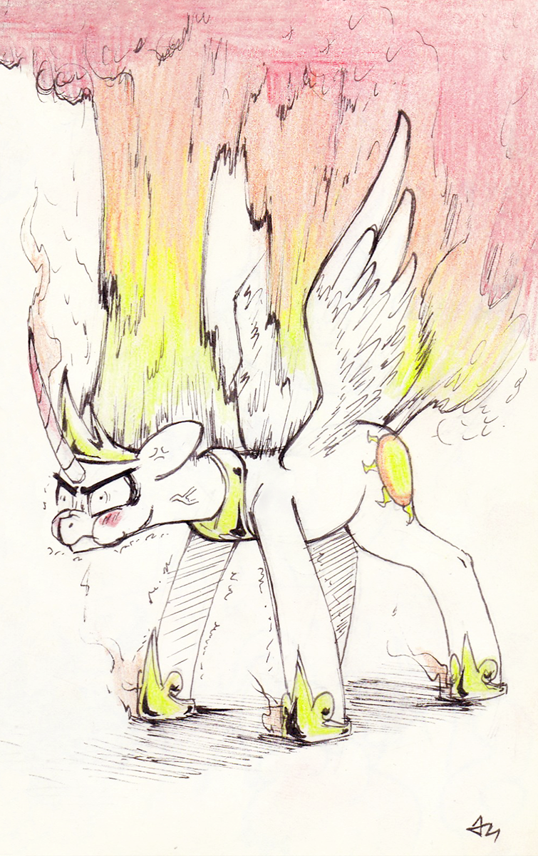 Inktober day 21 by Underpable