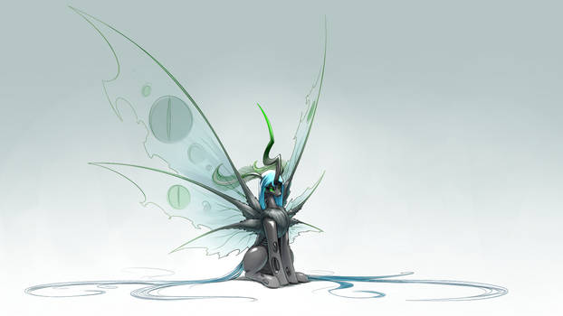 Grand Moth Chrysalis