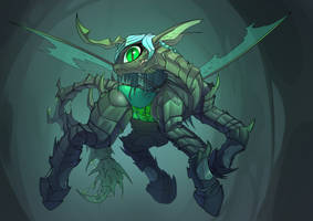 <b>Queen Of The Swarm</b><br><i>Underpable</i>