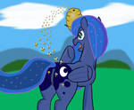 Luna's Accident by BStingDA
