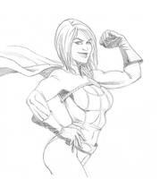 Power Girl by arielmedel