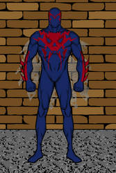 Spider-Man 2099 (Marvel Comics) by Nerd0And0Proud