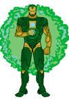 Iron Lantern (Iron Man + Green Lantern)