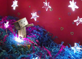 Catch The Falling Star Danbo by JDInUnderland