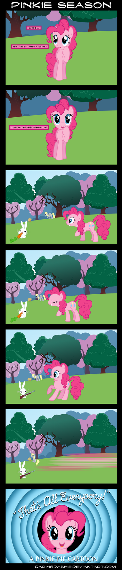 Comic - Pinkie Season by DaringDashie