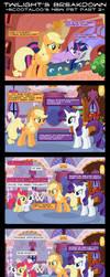 Twilight's Breakdown (Scootaloo's New Pet Part 2) by DaringDashie