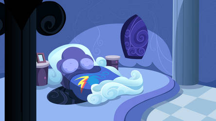 Dashie's Bedroom by DaringDashie