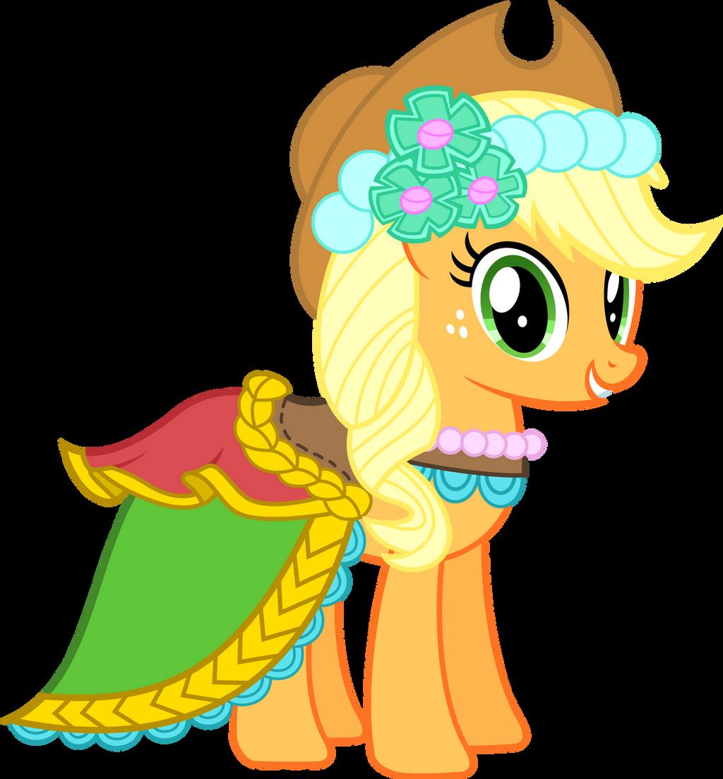 Applejack - Fancy Royal Wedding Duds