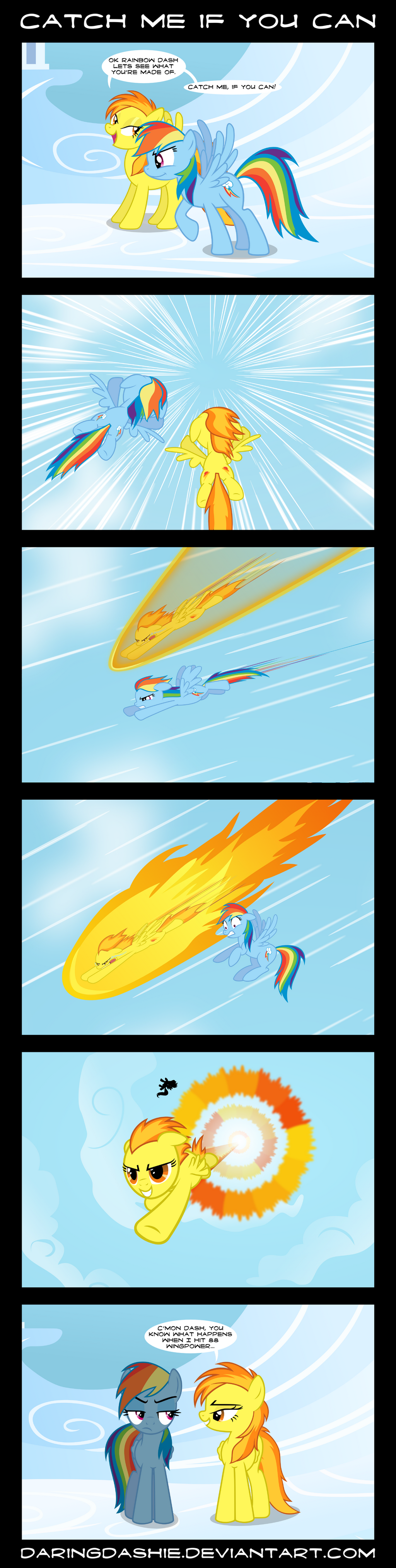 Catch Me If You Can by DaringDashie