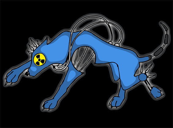 Nuclear Wolf by mistie