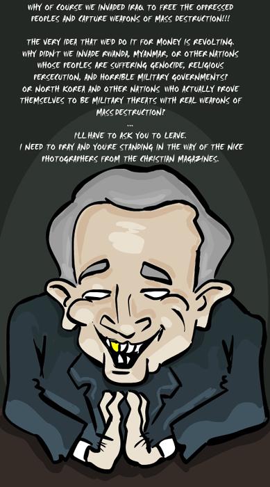 I'm Not Evil by georgebushplz