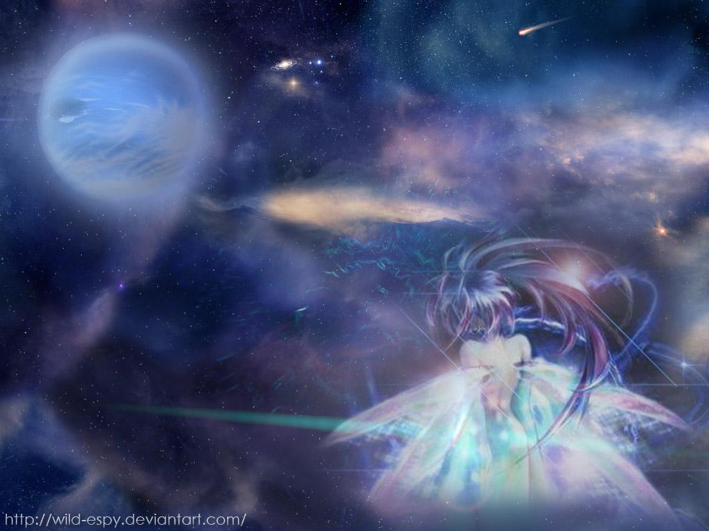 Space Angel Wallpaper By Wild Espy