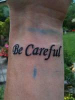 Wrist Tattoo by marloe