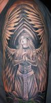 Angel Tattoo by marloe
