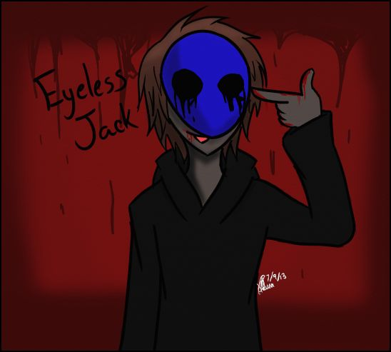 Eyeless Jack by ChaoticPuppetMaster