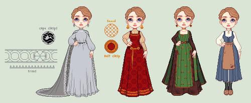 Sorceress Designs by Randromeda