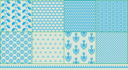 Medieval-ish Patterns by Randromeda