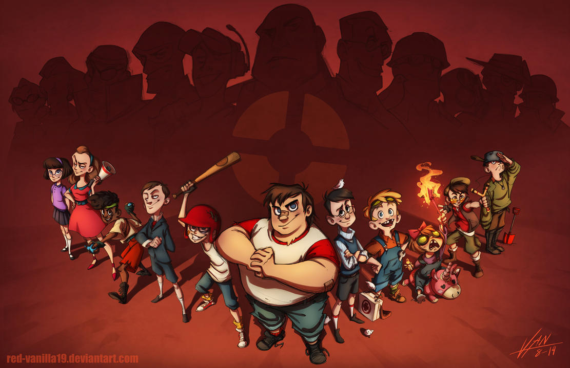 Kids Fortress 2 By Red Vanilla19 On Deviantart