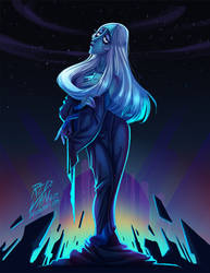 What a Blue Diamond