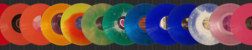 Rainbow Vinyl - horizontal by Salohcin-Silverwing