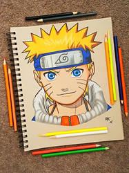Naruto Uzumaki by minidynz