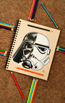 Darth Vader/Storm Trooper by minidynz