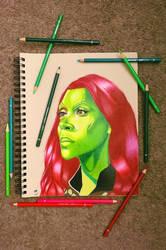 Gamora (Guardians of the Galaxy) by minidynz