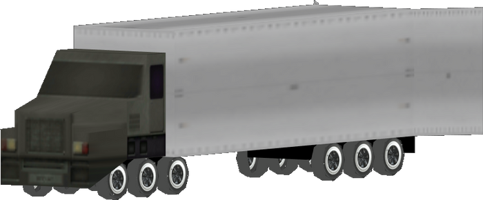 Nintendo 64 style Truck