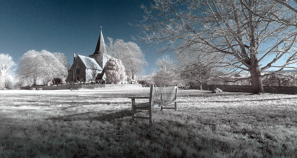 The Church Bench by wreck-photography