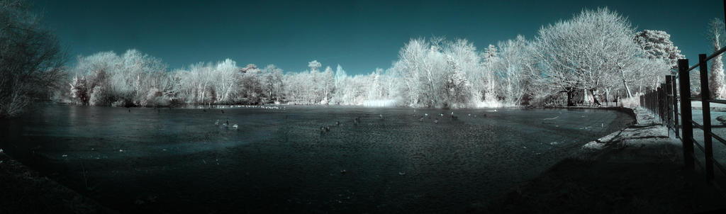 Hampden Park Lake by wreck-photography